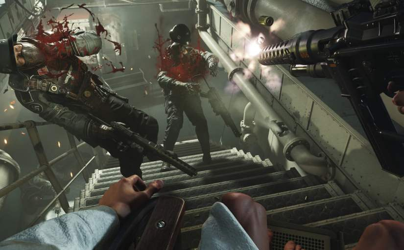 Complex Narratives, the Rise of Fascism, and WolfensteinII