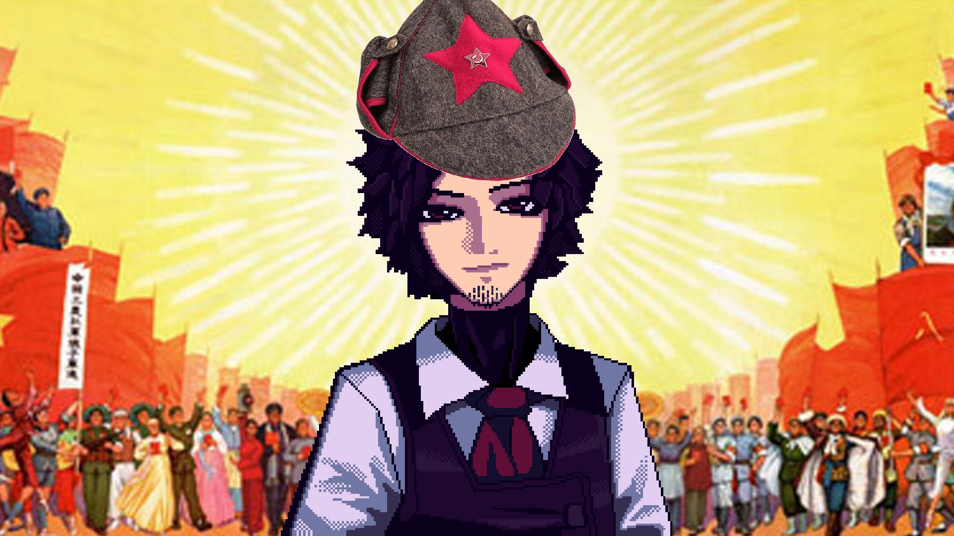 Is Gillian From Va 11 Hall A A Revolutionary Comrade Jaffameister