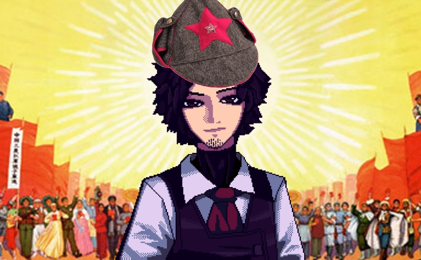 Is Gillian from VA-11 Hall-A a Revolutionary Comrade?