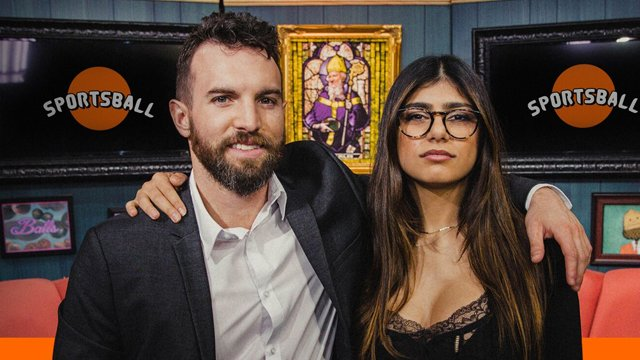 Mia Khalifa on Co-hosting Sportsball and Working with Tyler Coe